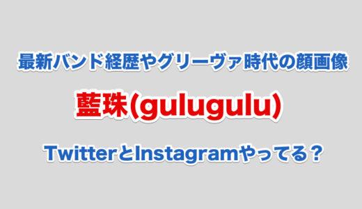 藍珠(gulugulu)最新バンド経歴|グリーヴァ時代の顔画像|Twitterやインスタはやってる?